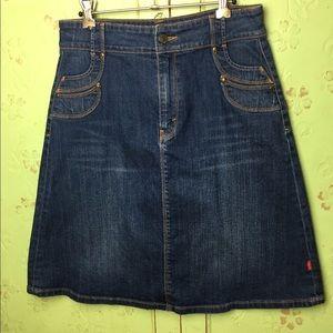 Levi Strauss Denim Skirt mid length